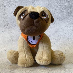 PPRA Pug Plush Toy | www.pugpatrolrescueaustralia.com.au